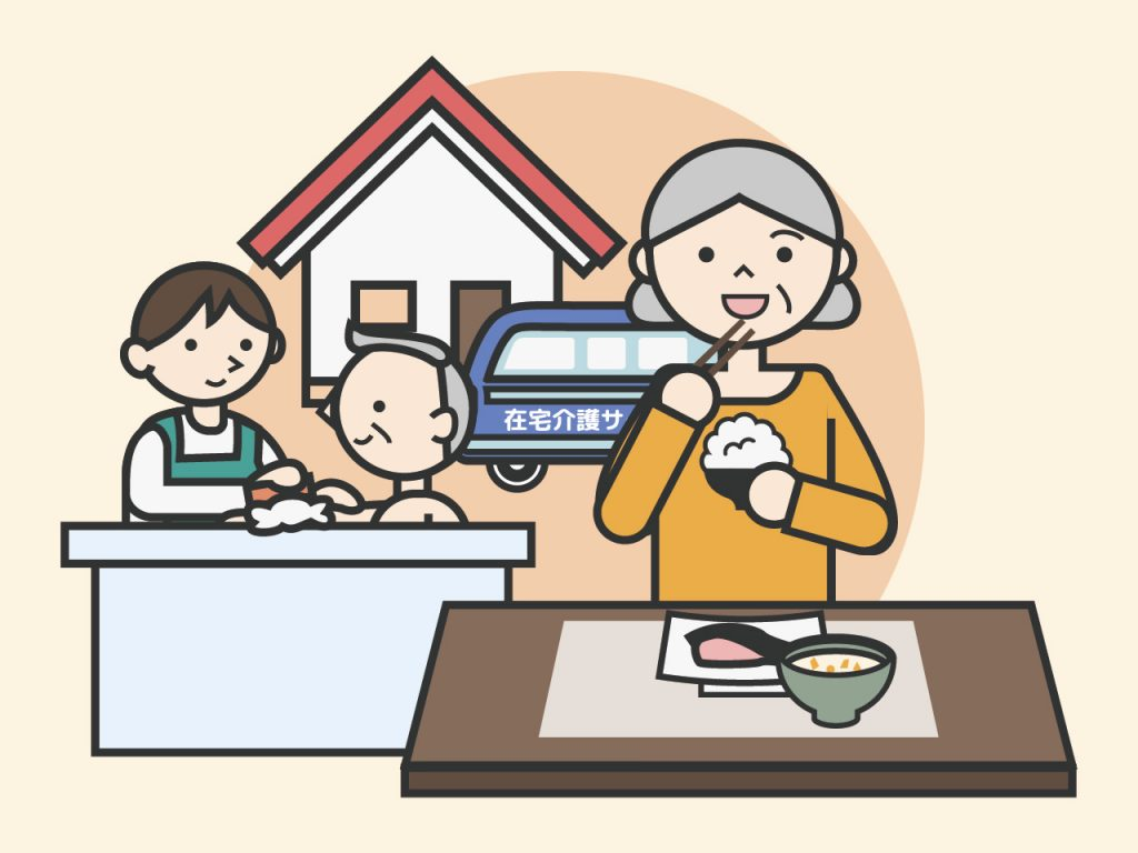 在宅介護サービスの種類